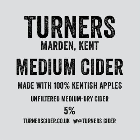 Turners Medium Cider